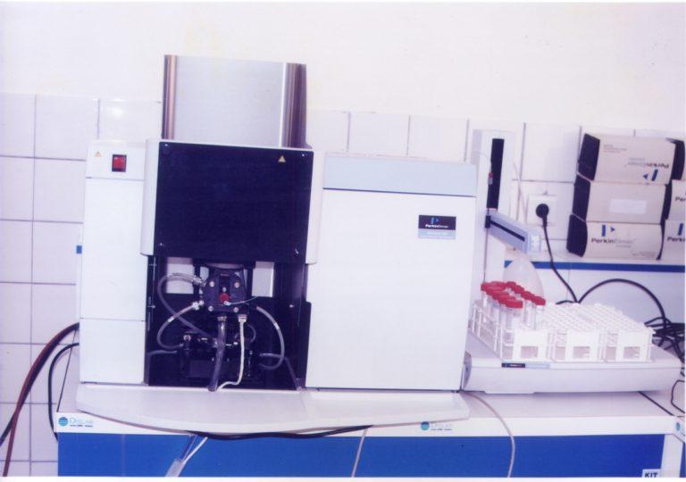 equipement-spectromètre absorption atomique-CRASAN